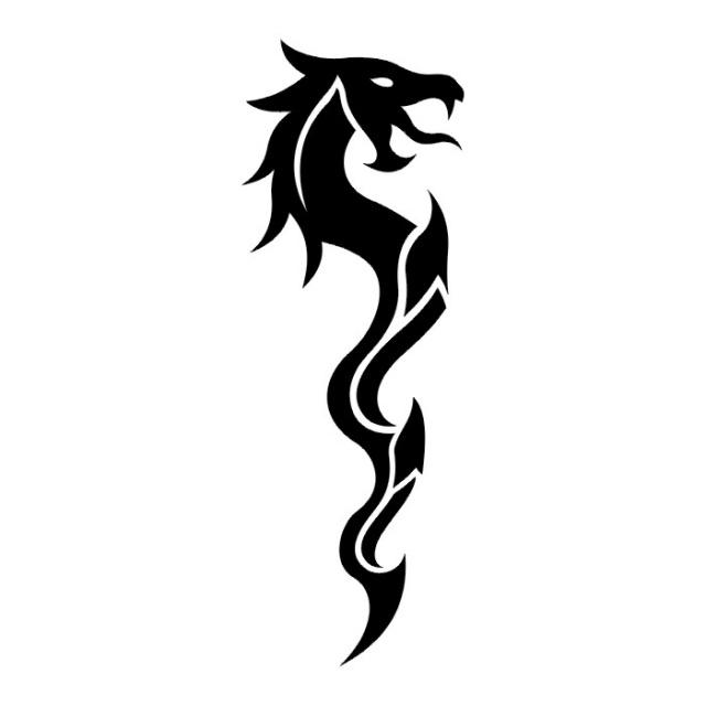 эскизы дракона (2)