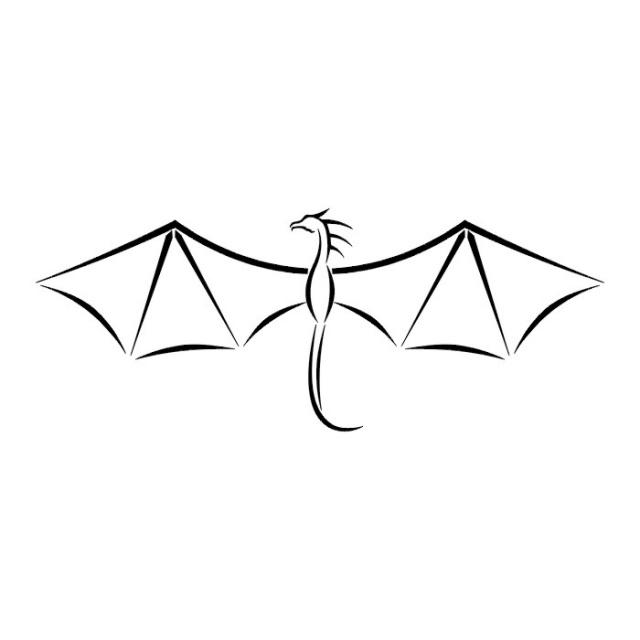 эскизы дракона (31)