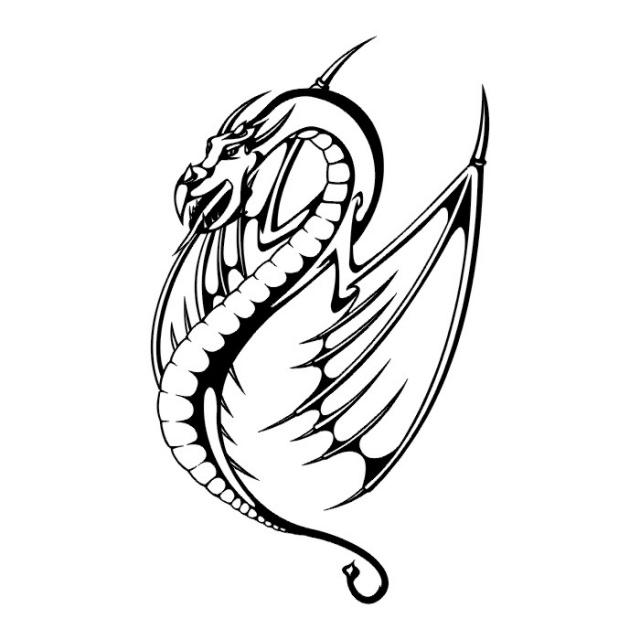 эскизы дракона (28)