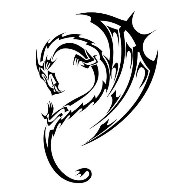 эскизы дракона (27)