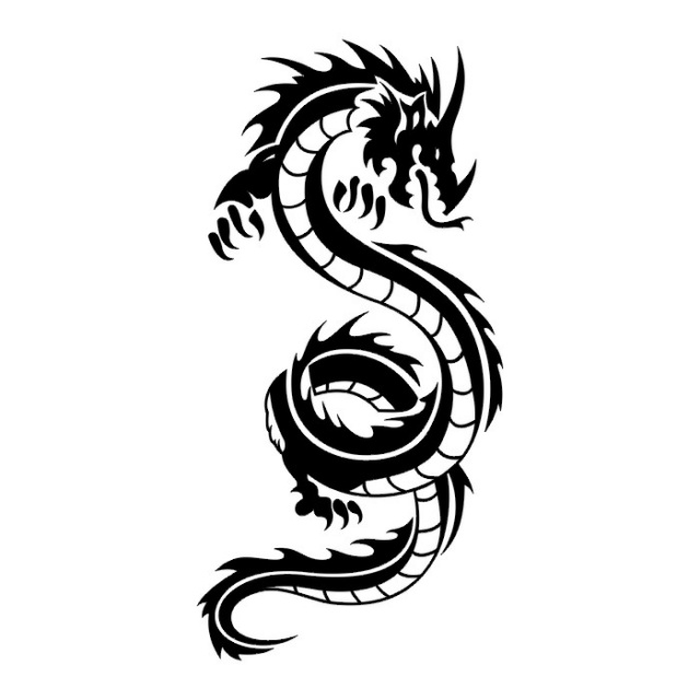 эскизы дракона (26)