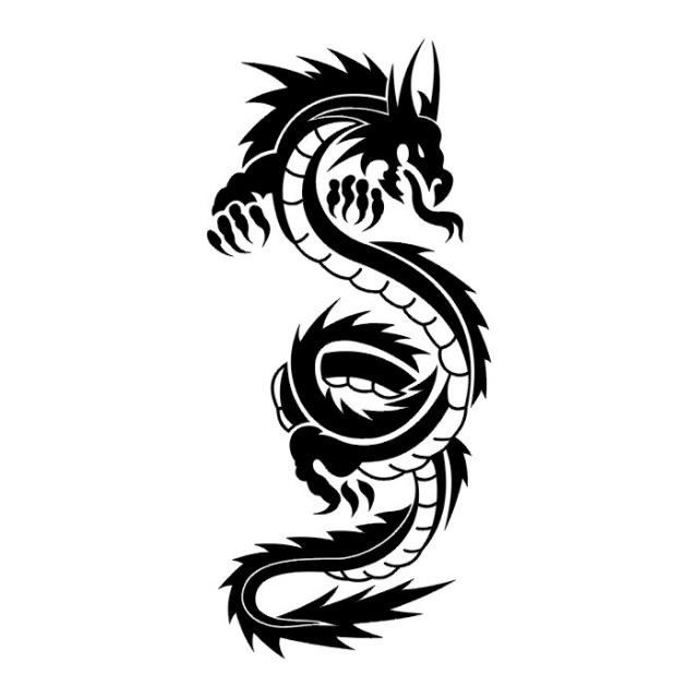 эскизы дракона (24)