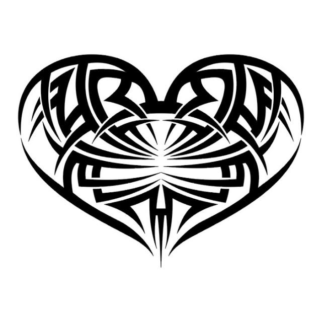 сердце татуировка (30)