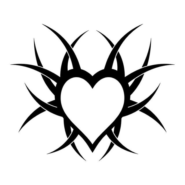 сердце татуировка (21)