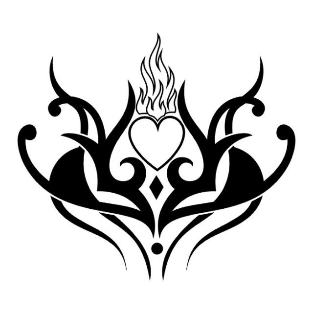 сердце татуировка (19)
