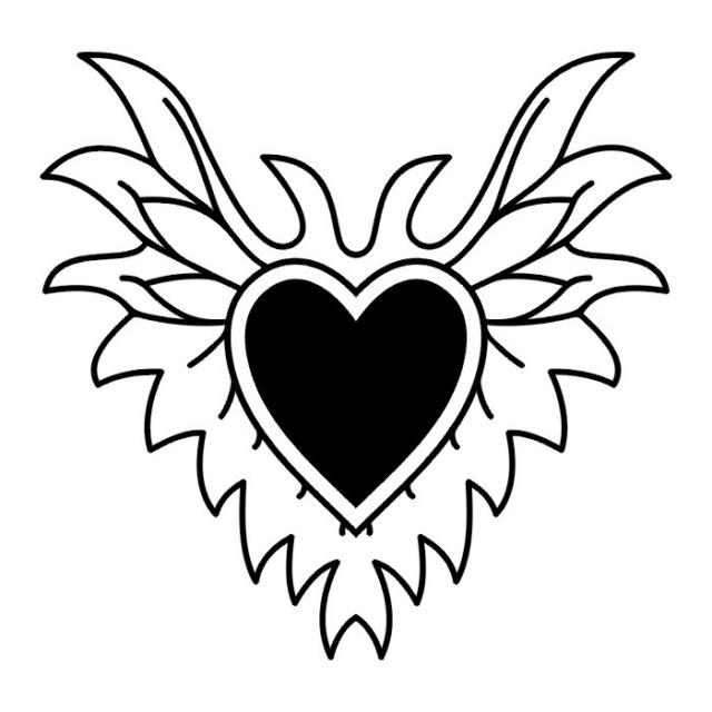 сердце татуировка (18)