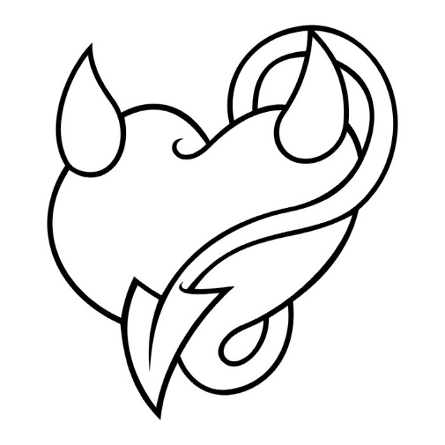 сердце татуировка (17)