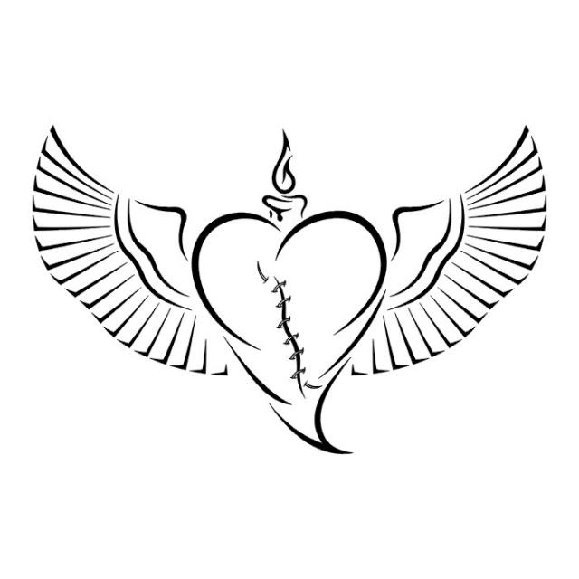 сердце татуировка (15)