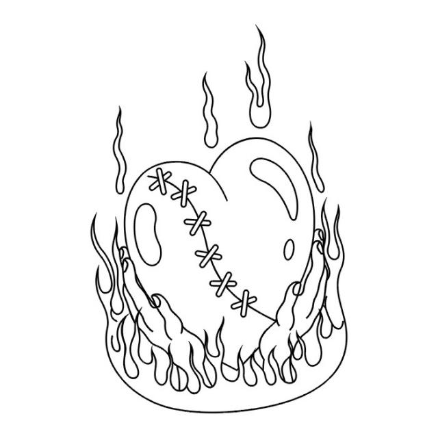 сердце татуировка (14)