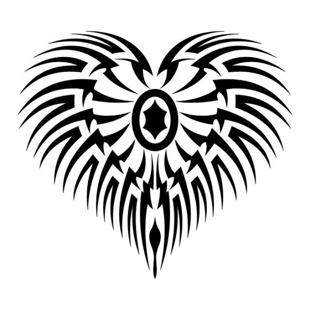 сердце татуировка (5)