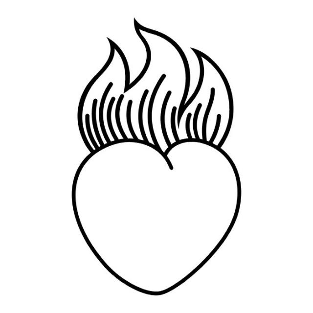 сердце татуировка (4)