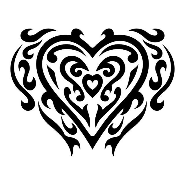 сердце татуировка (25)