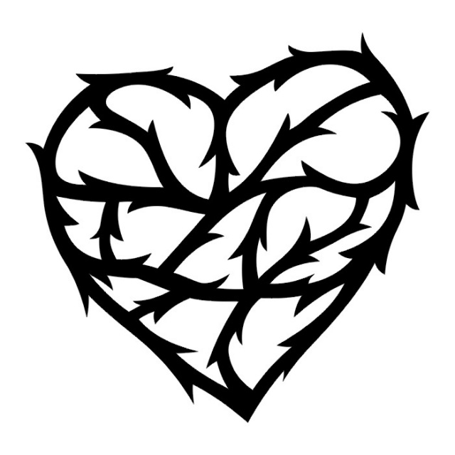 сердце татуировка (24)