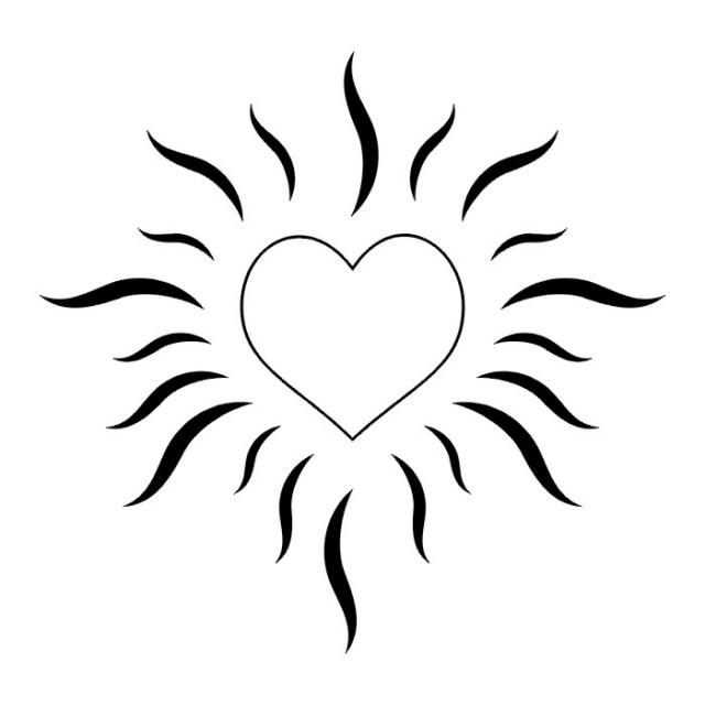 сердце татуировка (23)