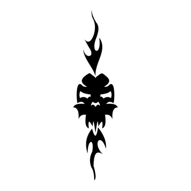 Эскизы татуировки череп (15)