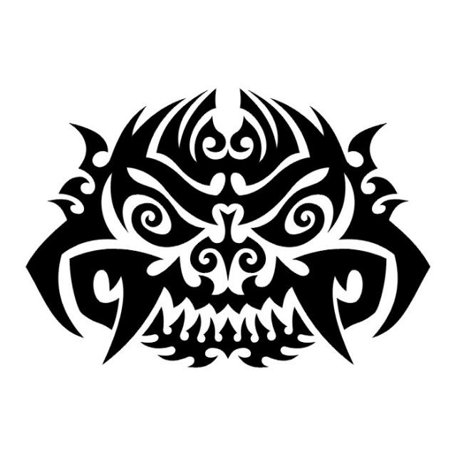 Эскизы татуировки череп (3)