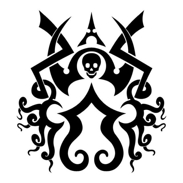 Эскизы татуировки череп (4)