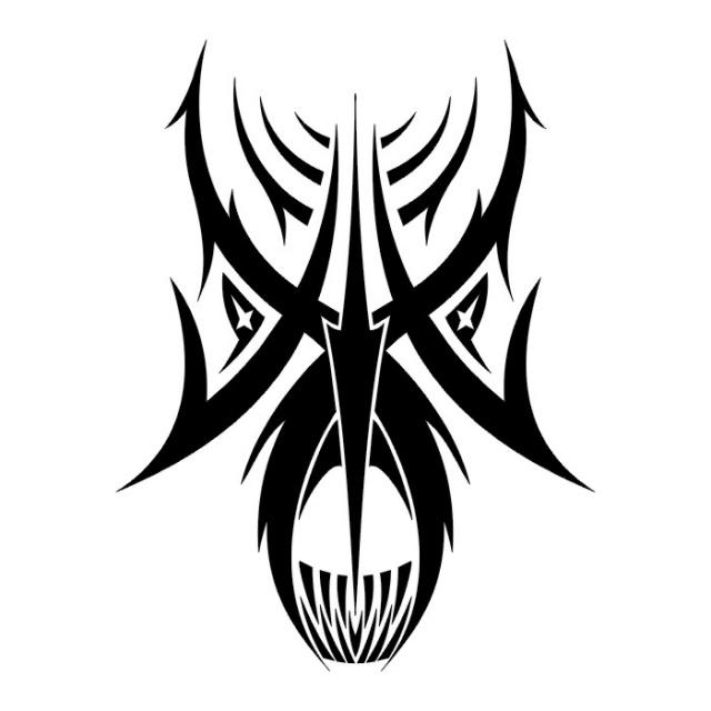 Эскизы татуировки череп (7)