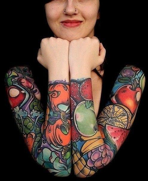 женские татуировки (9)