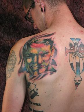 татуировки комиксы: Халк (11)