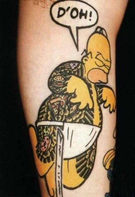 татуировки комиксы (17)