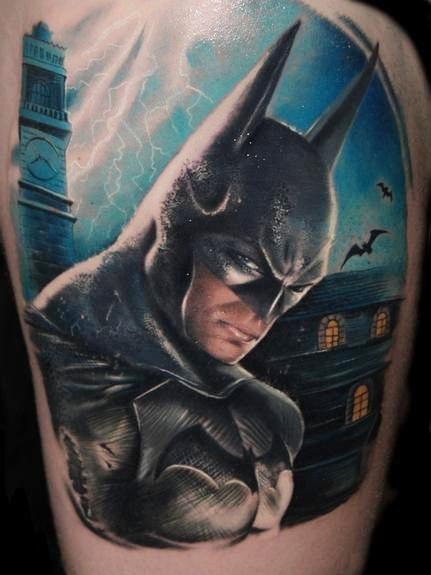 татуировки комиксы: Бэтмен (32)