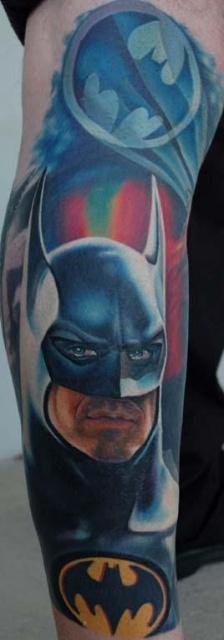 татуировки комиксы: Бэтмен (42)