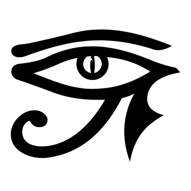 эскизы-татуировки: глаз Гора (1)