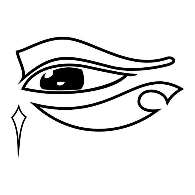 эскизы-татуировки: глаз (13)