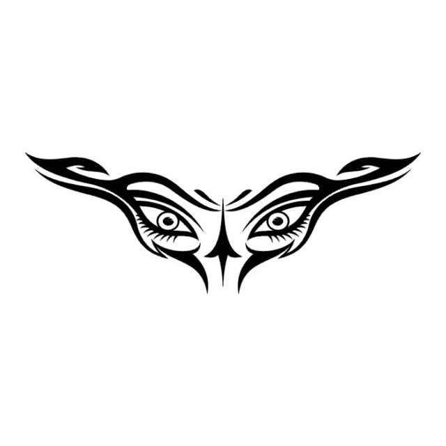 эскизы-татуировки: глаз (16)