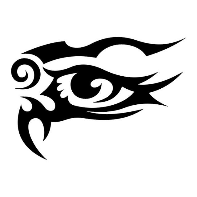 эскизы-татуировки: глаз (3)