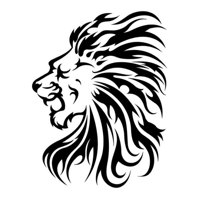 эскизы львов (15)