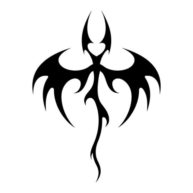 Эскизы татуировок: дракон (14)
