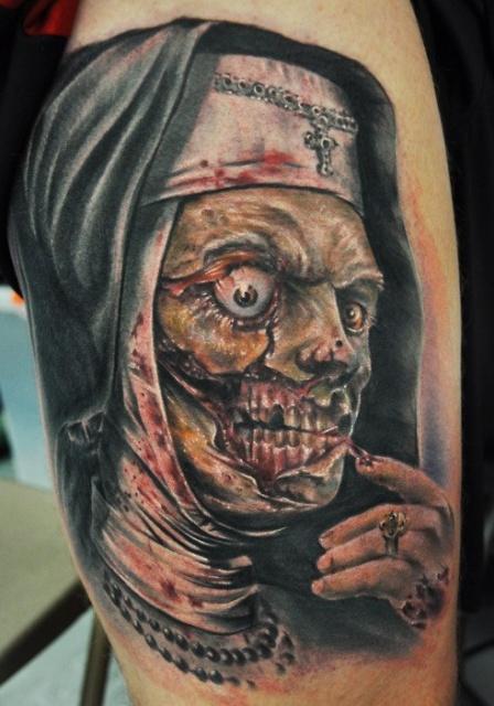 татуировки-женские портреты (4)