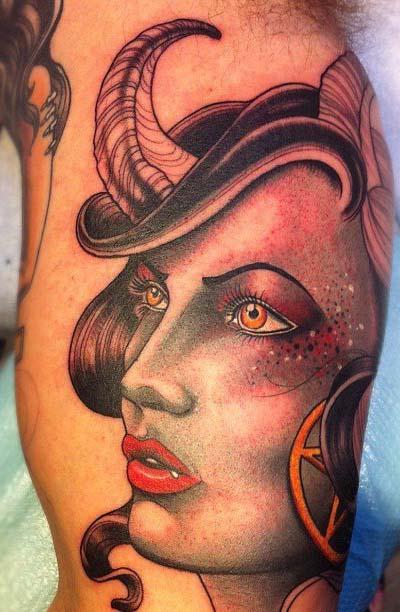 татуировки-женские портреты (9)