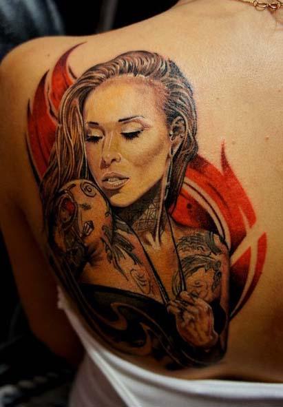 татуировки-женские портреты (8)