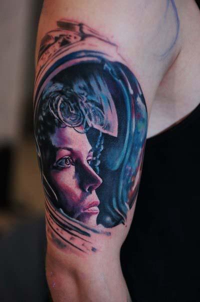 татуировки-женские портреты (6)