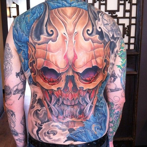 Татуировки черепа (12)