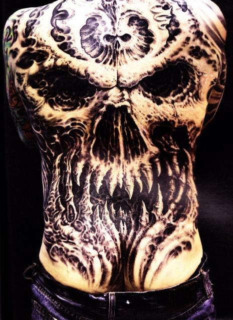 Татуировки черепа (14)