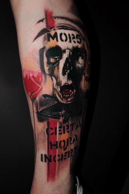 Татуировки черепа (6)