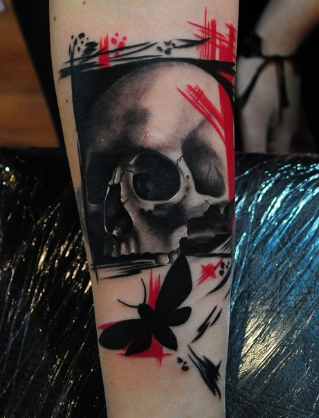 Татуировки черепа (7)