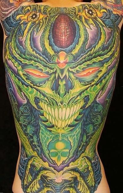 Татуировки черепа (9)