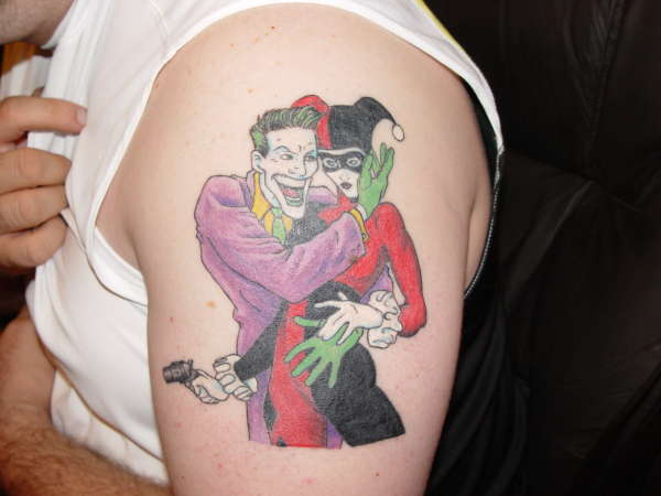 татуировки харли квин (harley quinn) (29)