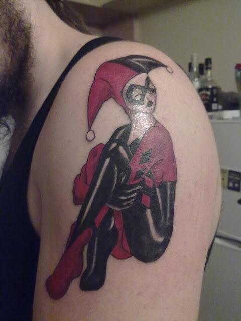 татуировки харли квин (harley quinn) (17)