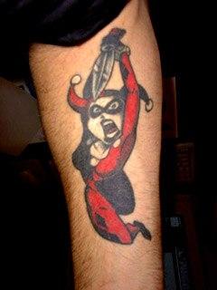 татуировки харли квин (harley quinn) (28)