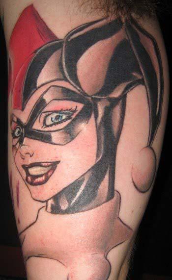 татуировки харли квин (harley quinn) (9)