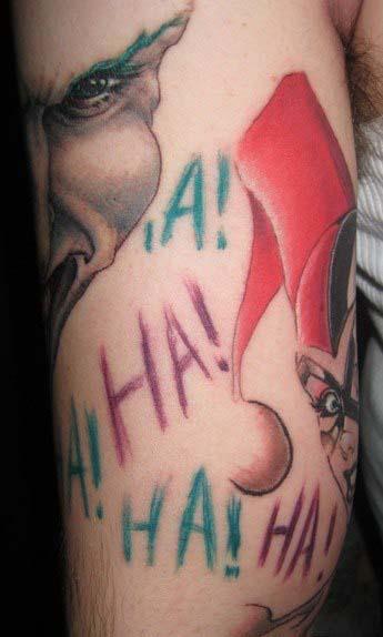 татуировки харли квин (harley quinn) (6)