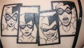 татуировки харли квин (harley quinn) (5)