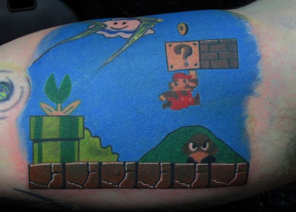 татуировки марио (4)