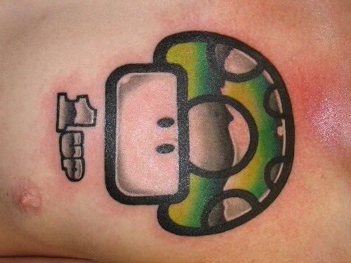 татуировки марио (2)